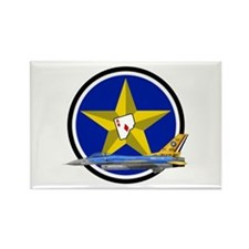 111th Fighter Squadron Rectangle Magnet