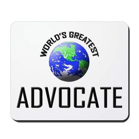 World's Greatest ADVOCATE Mousepad