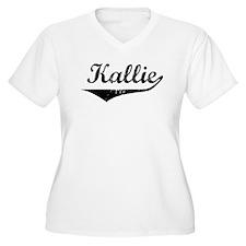 Kallie Vintage (Black) T-Shirt