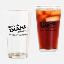 Cute Imani Drinking Glass
