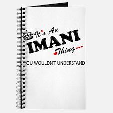 Cute Imani Journal