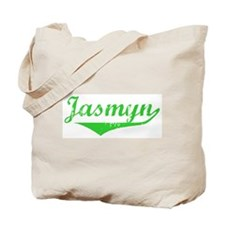 Jasmyn Vintage (Green) Tote Bag