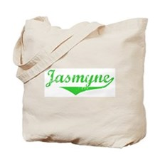 Jasmyne Vintage (Green) Tote Bag