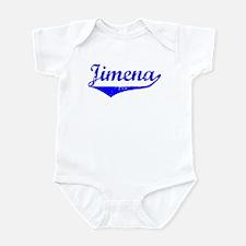 Jimena Vintage (Blue) Infant Bodysuit