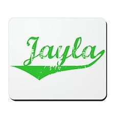 Jayla Vintage (Green) Mousepad