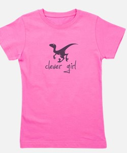 Cute Dinosaurs Girl's Tee