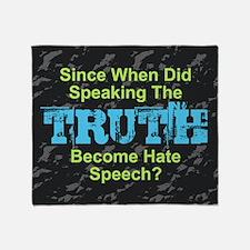 Truth Throw Blanket