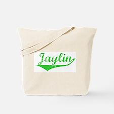 Jaylin Vintage (Green) Tote Bag