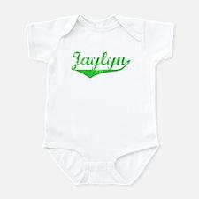 Jaylyn Vintage (Green) Infant Bodysuit