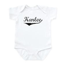 Karlee Vintage (Black) Infant Bodysuit