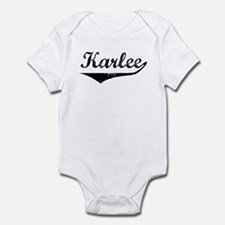 Karlee Vintage (Black) Infant Bodysuit