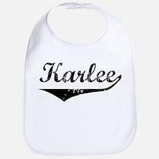 Karlee Vintage (Black) Bib