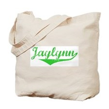 Jaylynn Vintage (Green) Tote Bag