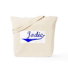 Jodie Vintage (Blue) Tote Bag
