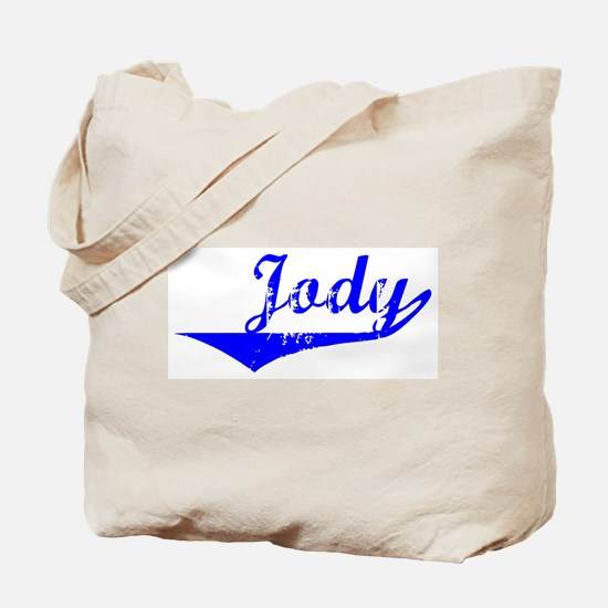 Jody Vintage (Blue) Tote Bag