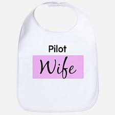 Pilot Wife Bib