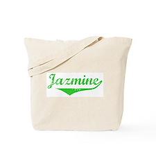 Jazmine Vintage (Green) Tote Bag