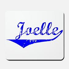 Joelle Vintage (Blue) Mousepad