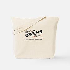 Cute Owen Tote Bag