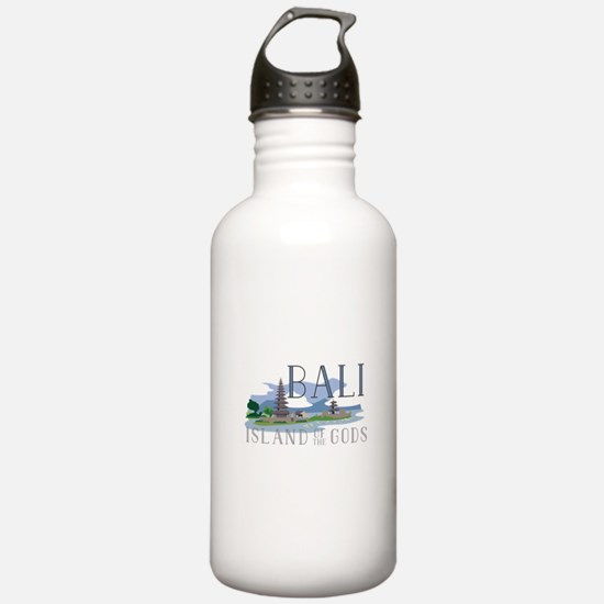 Bali Island Of Gods Water Bottle