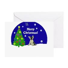 German Shepard Merry Christmas Greeting Card