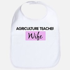 AGRICULTURE TEACHER Wife Bib