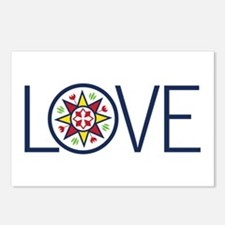 Love Decal Postcards (Package of 8)