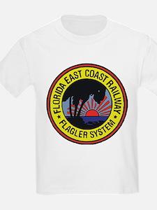 Florida East Coast Railway logo T-Shirt