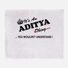 Unique Aditya Throw Blanket