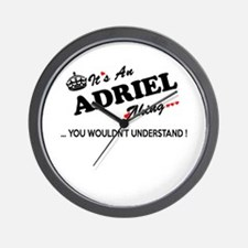 Cute Adriel Wall Clock