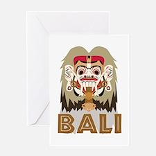 Rangda Bali Greeting Cards