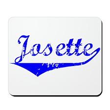 Josette Vintage (Blue) Mousepad