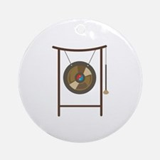 Gong Round Ornament