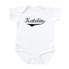 Katelin Vintage (Black) Infant Bodysuit