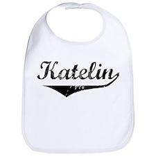 Katelin Vintage (Black) Bib