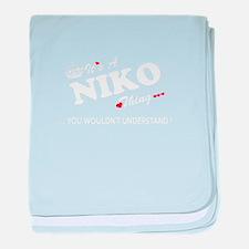 Cute Niko baby blanket