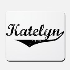 Katelyn Vintage (Black) Mousepad