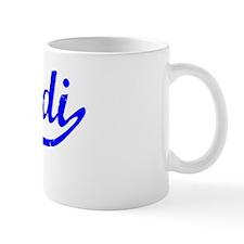Judi Vintage (Blue) Coffee Mug