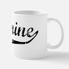 Kathrine Vintage (Black) Mug