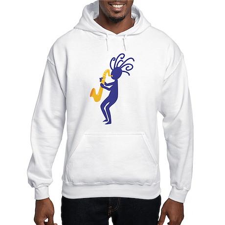 Kokopelli 3 Hooded Sweatshirt