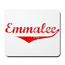 Emmalee Vintage (Red) Mousepad