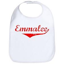 Emmalee Vintage (Red) Bib