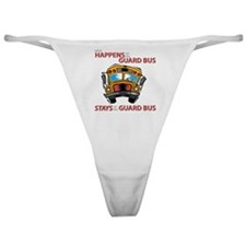 What Happens on the Guard Bus Classic Thong