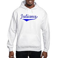 Juliana Vintage (Blue) Hoodie Sweatshirt