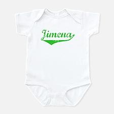 Jimena Vintage (Green) Infant Bodysuit