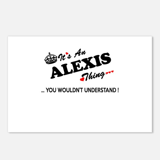 Cute Alexis Postcards (Package of 8)