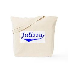 Julissa Vintage (Blue) Tote Bag