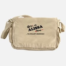 Cute Alissa Messenger Bag