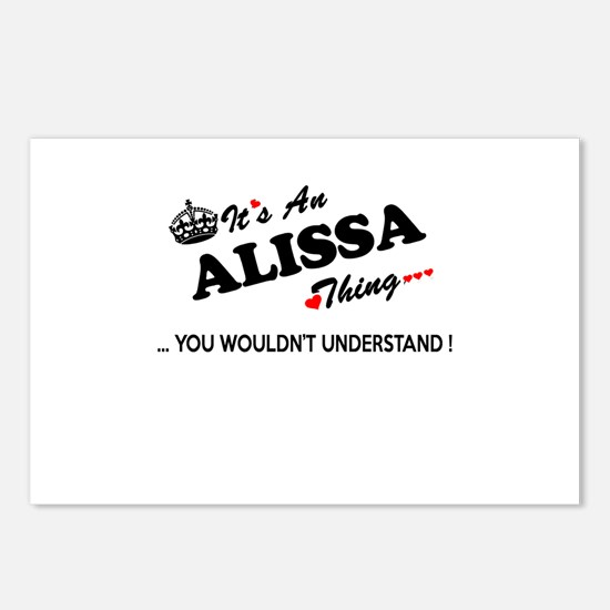 Cute Alissa Postcards (Package of 8)