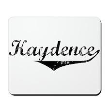 Kaydence Vintage (Black) Mousepad